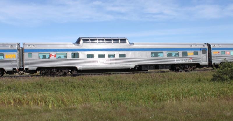 VIA Rail Skyline car