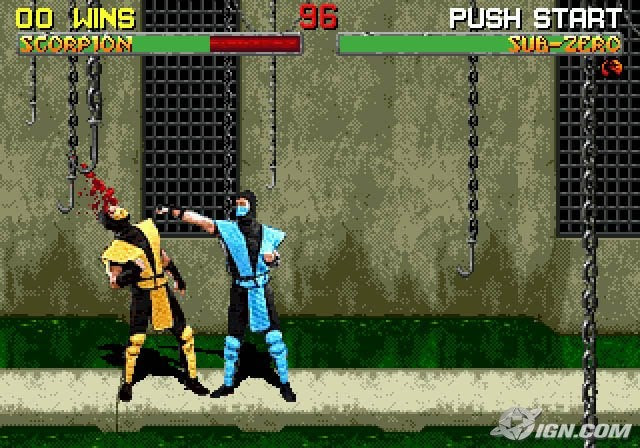 mortal kombat characters. Mortal Kombat II Picture