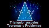 Teoremas y Problemas de Triángulos Isosceles.