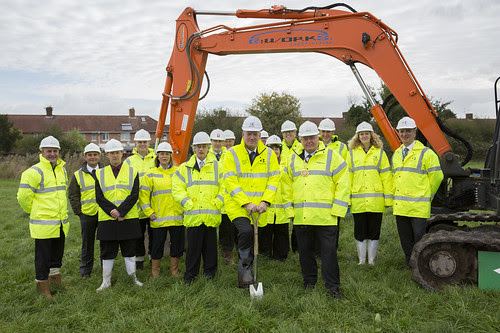 First spade in the ground heralds new Performing Arts Centre