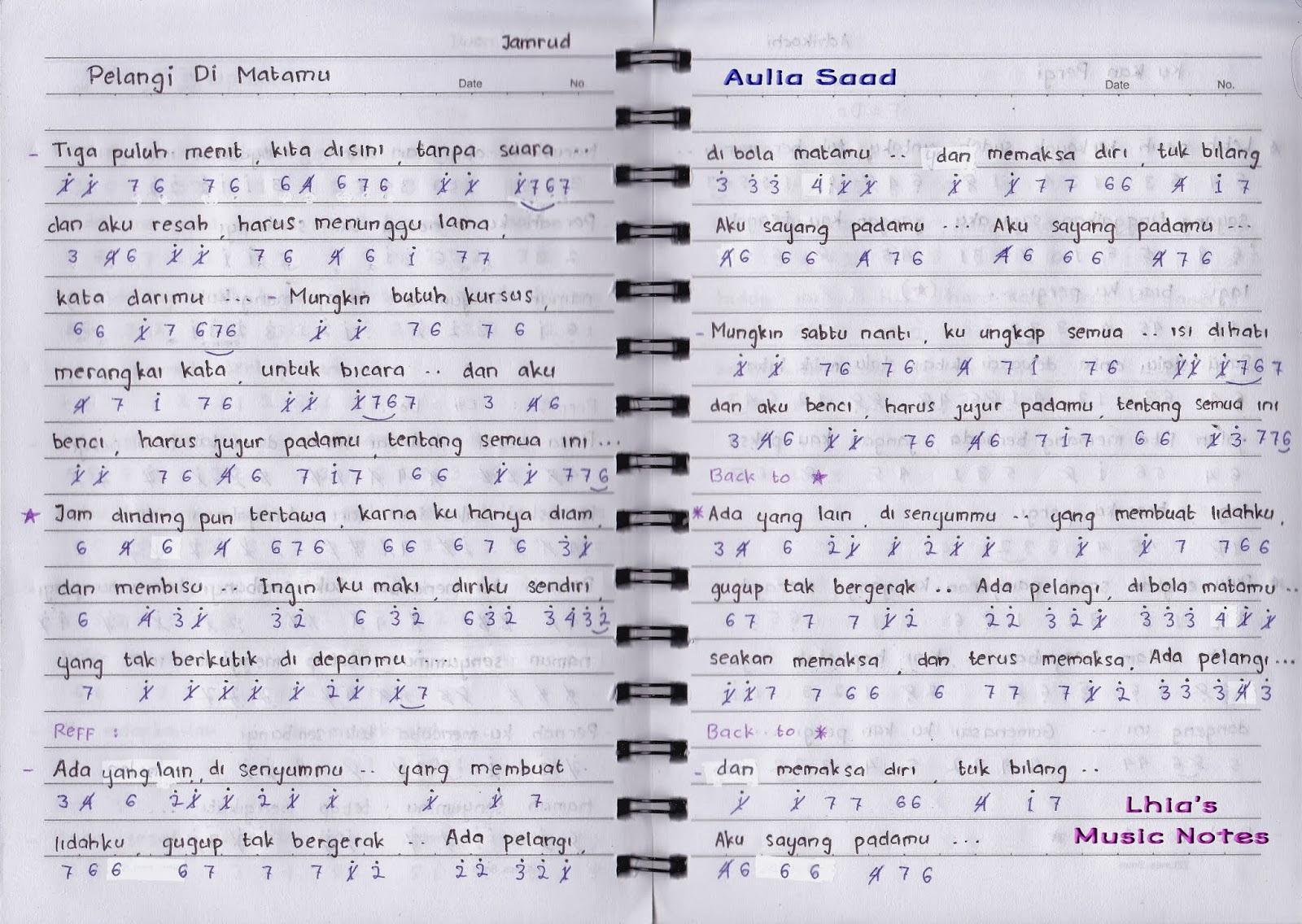 1000 Gambar Chord Gitar Pelangi Dimatamu Paling Keren Gambar Id