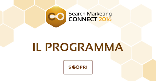 Il programma e i temi » Search Marketing Connect