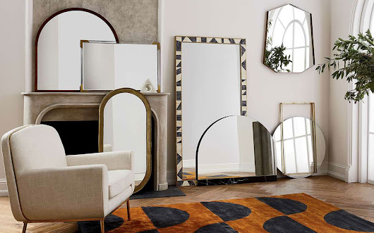 Giant Mirrors to Decorate Your Home With Style | Nuji