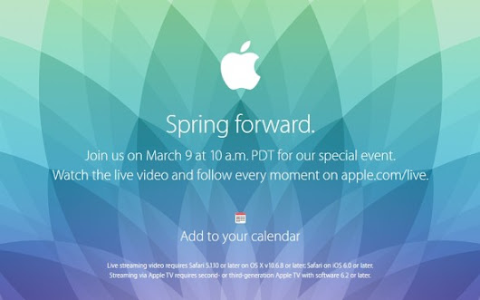 What to expect from Apple's Spring Forward event  News -