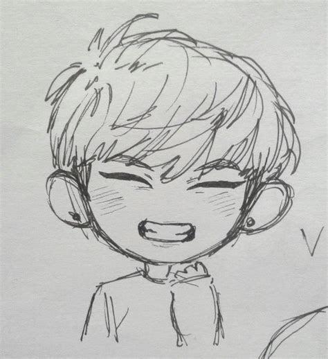 pin  kookie bunny  kim taehyung kpop drawings bts