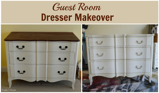 Fresh New Guest Room Dresser – Puddy's House