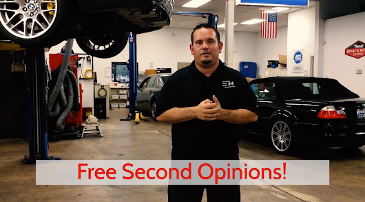 Free Second Opinions on Auto Service - Performance Motor Works
