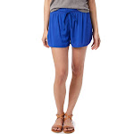 Alternative Rayon Challis Paneled Shorts