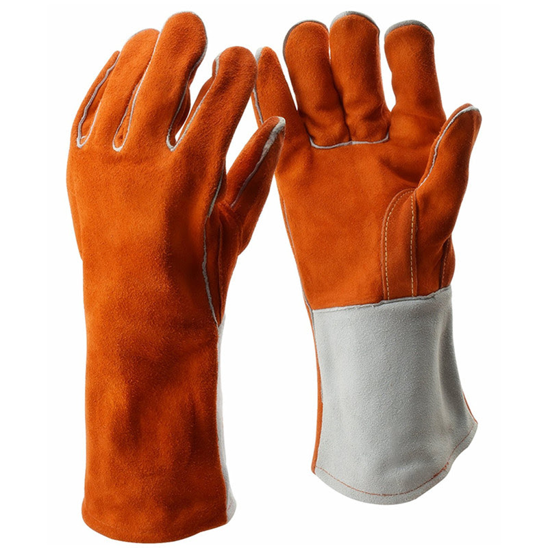 Safety Protection Glove Welding Gloves Cowhide Welding Cutting Leather Heat Resistant Heavy Duty Arc Tig Gloves Hand Guard Aliexpress