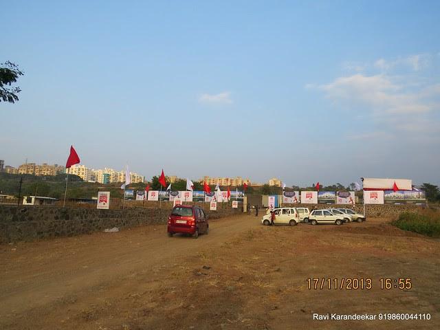 DSK Vishwa Dhayari & Site of Belvalkar Kalpak Homes, 1 BHK & 2 BHK Flats at Kirkatwadi, Sinhagad Road, Pune 411024