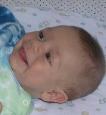 Adam at 3 months