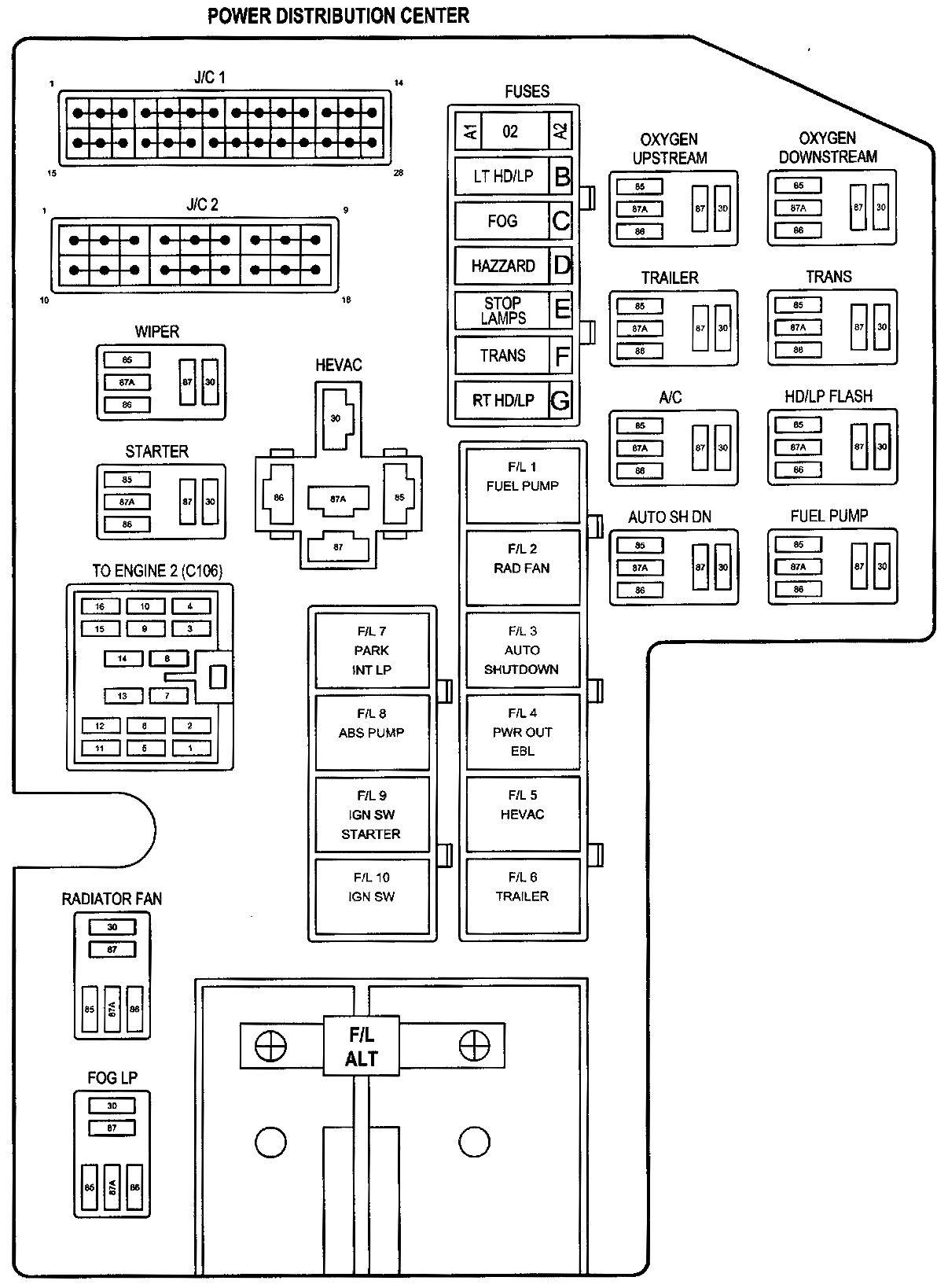01f116 1995 Dodge Dakota Fuse Diagram Wiring Library