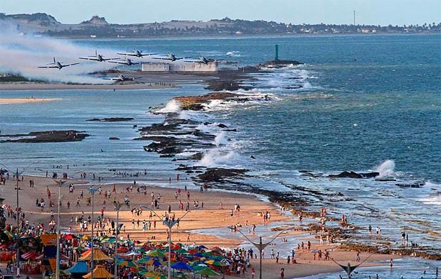 Praia do Forte, na zona Leste de Natal (Foto: Canindé Soares)