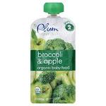 Plum Organics Plum Broccoli/Apple, Plum Organics, Mealtimes