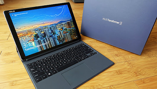 Asus Transformer 3 Pro | 2-in-1 PC Review - Wajeez