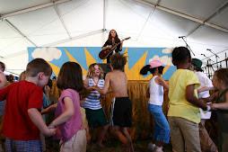 Johnette at Jazz Fest