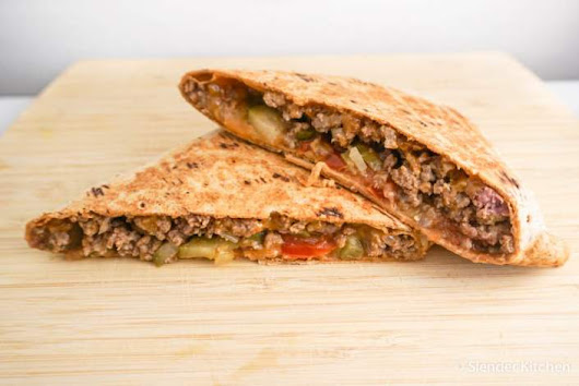 Grilled Cheeseburger Wrap - Personalized Nutrition Concepts