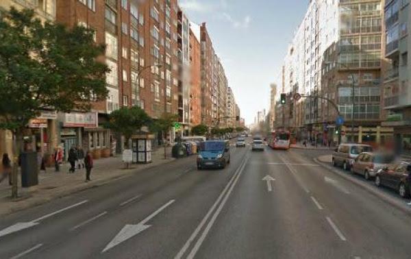 Aspecto actual de la calle Vitoria