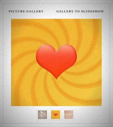 Слайд-шоу галереи для сайта