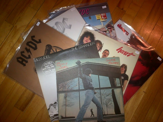 New Vinyls: AC/DC, The Doors, Billy Joel, Heart