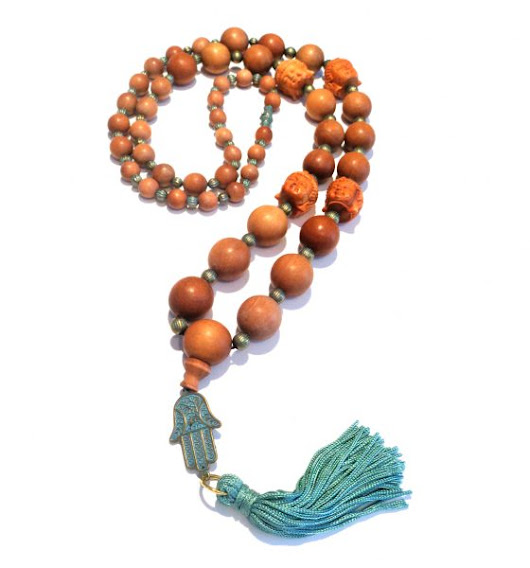 Prayer Bead Influenced Necklace | Welcome to the Blog for John Bead Corporation  Beads, Crystals, Components and Carnival