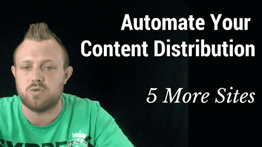 Put Your Content Syndication Strategy On Autopilot