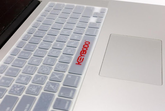 This Keyboard Cover Lets Users Actually Feel the Letters They Type