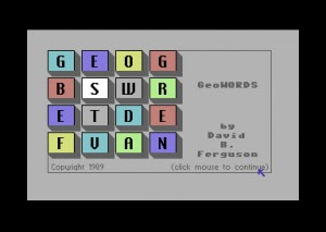 Geowords