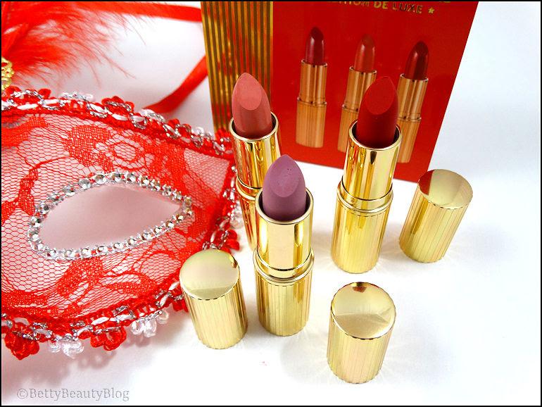 Le Coffret De Rouges à Lèvres Festif De Nocibé Betty