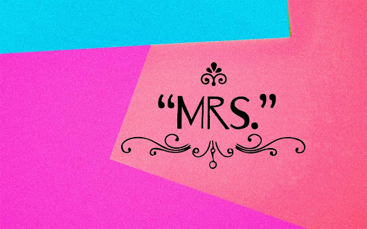 "Why We Spell ""Mrs."" with an ""R"" 