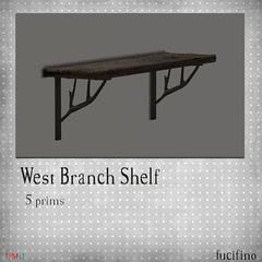 fucifino.west branch shelf