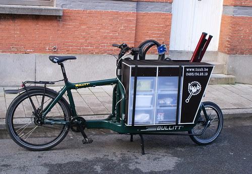 TUUB Mobiele fietsherstellingen in Gent