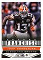 2013 Score NFL Football Trading Card # 306 Josh Gordon Future Franchise Cleveland Browns