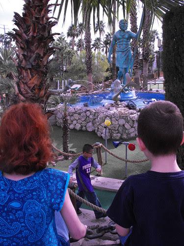Watching Statue of Neptune