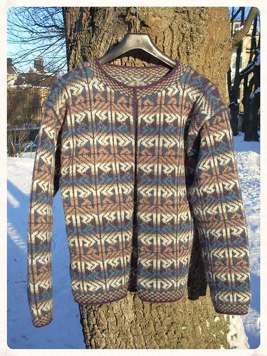"""Alba"" jacket (Starmore) by Asplund"