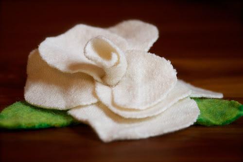 white-felted-flower