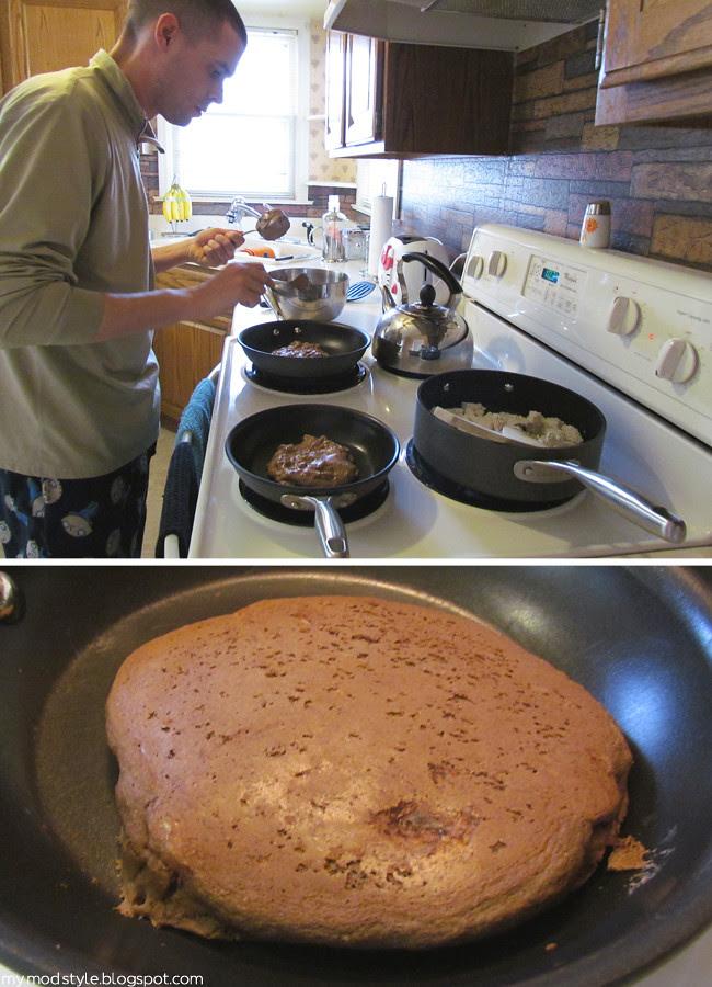 Pancakes & Scrambled Tofu