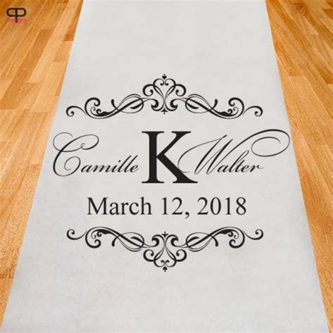 Personalized Wedding Aisle Runner (ppd2929) #2518073