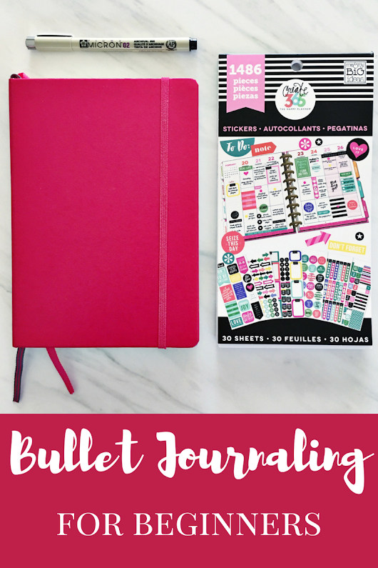 Bullet Journaling for Beginners - Working Mom Magic