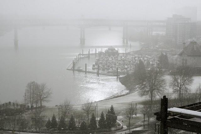 portland snowstorm