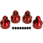 Traxxas 7764R - Aluminum GTX Shock Cap, Red, X-Maxx