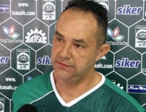 Roni Araújo, técnico do Icasa (Foto: Divulgação/Icasa)