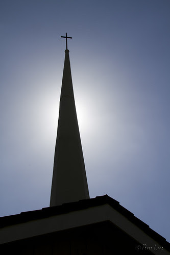Downey First Church steeple