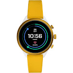 Fossil Sport Smartwatch - 41mm Red Silicone, Adult Unisex FTW6053