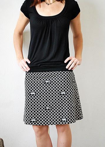 My echino pig skirt