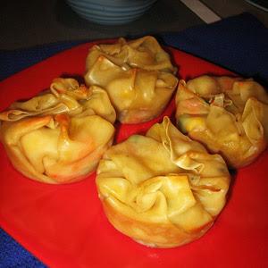 Chicken Pot Pie Bundles