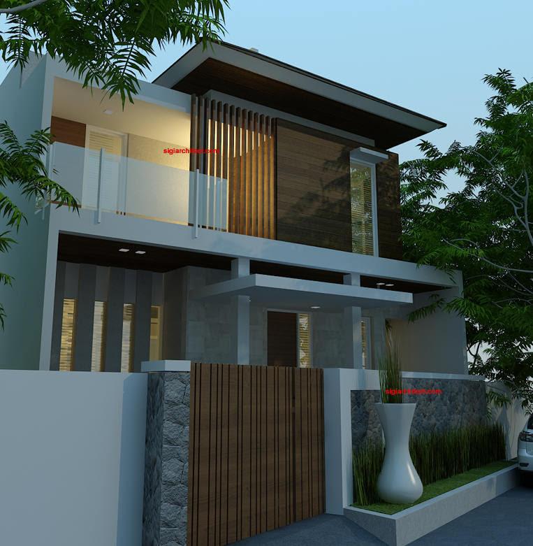 Desain Villa Minimalis - Renovasi Fasad