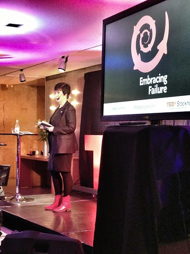 tedx stockholm - embracing failure