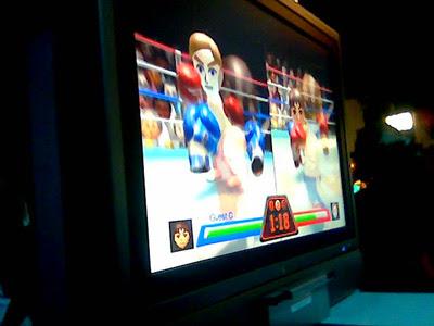 Tebin vs Val : Wii Sports