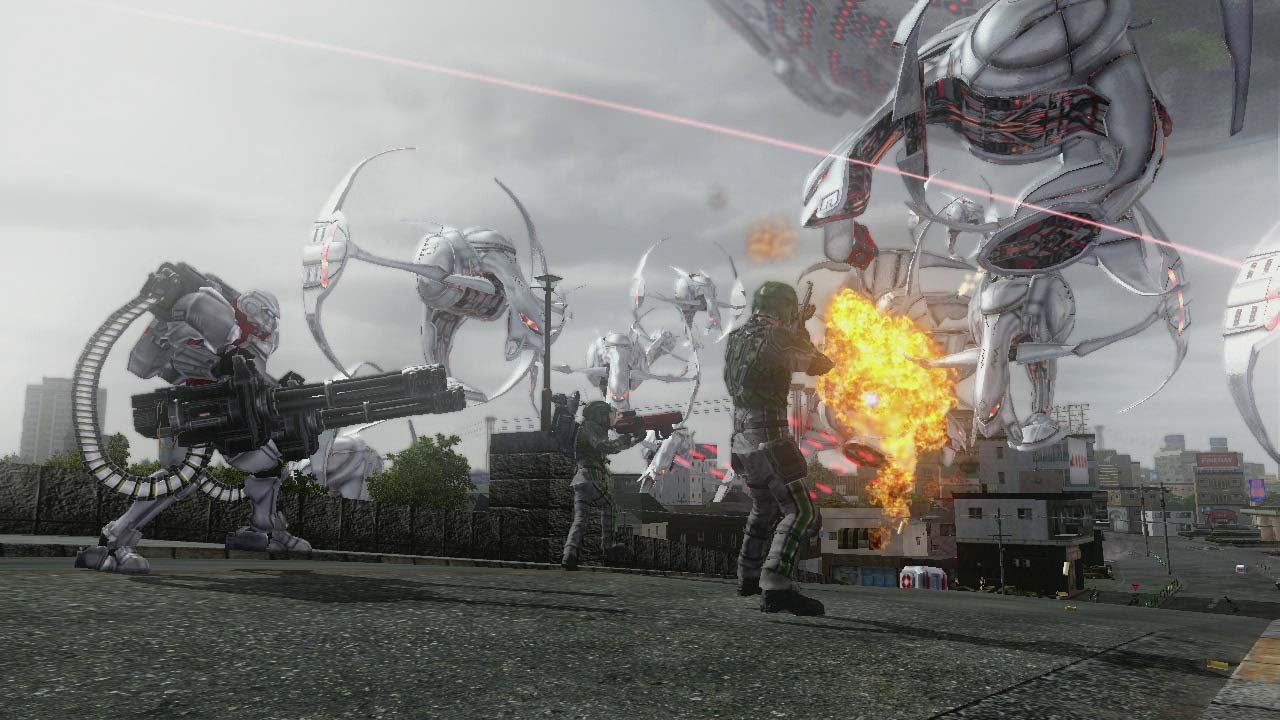 New Earth Defense Force 5 trailer shows off the EDF forces screenshot